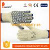 Gants de coton naturel en coton Ddsafety 2017 Blue Water Wave PVC