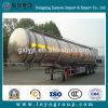 Aluminiumkraftstofftank-Schleppseil-LKW-Schlussteil 46m3