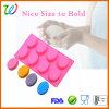 Commerce de gros DIY ovale du savon à base de silicone moule rond