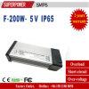 El controlador LED nuevo DC 5V 200W Rain-Proof SMPS de salida de la única fuente de alimentación de conmutación de la serie