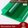 Окно фильм типа зеленого цвета для декоративной
