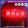Commerce de gros P10 Semi-Outdoor Module à LED de couleur rouge LED de message board