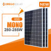Le panneau monocristallin le plus neuf 275W-285W de la pile 6bb solaire de Morego