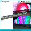 Lumière extérieure de lavage de mur de la barre 18X10W RGBW DEL