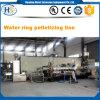 PP/PE con l'espulsore di granulazione dell'anello dell'acqua di Masterbatch talco/del CaCO3