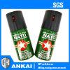 Jet militaire de la tactique de police de jet de gaz lacrymogène du spray au poivre 40ml de l'OTAN