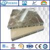 Panneau composite en nid d'abeille en pierre naturelle de haute qualité pour mur-rideau