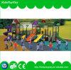Горячее продавая качание детей устанавливает напольную спортивную площадку с скольжением