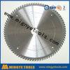 Lame de scie circulaire 10 Tct pour la coupe de matériau en aluminium