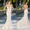 Nixe-Abend-Kleid-Spitze-Tulle-Brauthochzeits-Kleid E13917