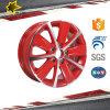 유행 빨간 파란 금 검정 Red&Blace 마스크 폴란드인 합금 Wheel
