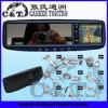 moniteur de navigation du Rearview GPS de la voiture 3.5 avec Bluetooth, émetteur de Fm, USB, écart-type, écran tactile (RVG350RB)
