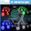 Haute énergie 24*3W Indoor DMX DEL PAR Disco Light