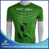 Vestuário para ciclismo de impressão de sublimação digital personalizado para uso em ciclismo