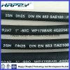 Hose idraulico Pipe con SAE100 R2 a 2sn Dn 1