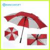 De Dubbele Paraplu van uitstekende kwaliteit van het Golf van Lagen Rechte Wind