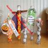 Câmara de ar plástica do engranzamento do animal de estimação transparente que empacota para doces
