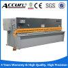 Accurl 금속 장 단두대 깎는 기계
