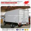 4X2 Wielbasis 2800mm Mini Van Cargo Truck van de Vorm van de aandrijving