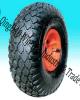 Roda de borracha pneumática para a trilha da mão do jardim (10  X3.00-4)