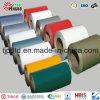 Les bobines de PPGI, colorent la bobine en acier enduite, le blanc Ral9002 enduit d'une première couche de peinture