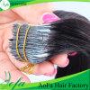 Cola de trama humana de qualidade superior na extensão Remy Hair