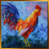 CanvasのRoosterの工場Direct Decorative Oil Painting