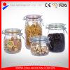 Tarro de cristal hermético de alimentos al por mayor / el tarro de cristal sellada