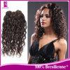 100%のブラジル人の機械によってなされるカールの人間の毛髪のよこ糸(GP-BCW)