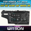 Witson Car DVD Player voor Honda Fit 2014 W2-D8314h met ROM WiFi 3G Internet DVR Support van Chipset 1080P 8g