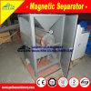 Tipo seco máquina magnética do separador da intensidade elevada com 13000 GS (gauss) para a produção do minério do zircónio de 66%