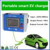 10kw 20A 휴대용 EV는 충전소 단식한다