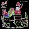 Coroa da tiara do feriado, tiara do Natal, venda por atacado da coroa da tiara da representação histórica