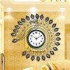 reloj de gran tamaño de Clockdigital de la pared del hierro labrado de la promoción 2015new