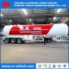 25t Tri-Axle прицепа в баке для транспортировки сжиженного нефтяного газа 56000L газовый баллон для Нигерии прицепа