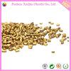 Masterbatch de oro con la materia prima plástica