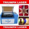 소형 Laser 절단 조각 기계 아크릴 나무 PVC/거품 널 고무 Portable Laser 절단기 개선