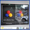 反反射ガラス。 防眩ガラス、紫外線ガラス、要求として別の形の家具のための博物館ガラス