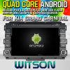 Véhicule DVD de l'androïde 4.4 de Witson pour le carnaval grand de KIA (W2-M589)