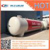 Tanque de depósito de presión de 52 toneladas en el suelo utilizar bombona de gas