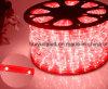 Alrededor dos de luz de la cuerda del color rojo 30LEDs 2W/M LED de los alambres/de luz de tira al aire libre de Light/LED/de la luz de neón/de la luz de la Navidad/de la luz del día de fiesta/de la luz del hotel/de la tira ligera de la barra LED