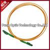 Faser Optik-LX. 5 Patchcord mit Singlemode gelber äußerer Hülle