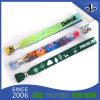 pulseiras de eventos de promoção de design personalizado poliéster plástico