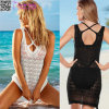 2017 Nouvelle mode Crochet Striped Cover-up L38486