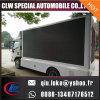 Visualización de LED publicitaria móvil del carro al aire libre, carro móvil del LED para la venta