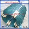 深緑色PVCは結合ワイヤーのためのワイヤー熱いすくいの電流を通されたワイヤーに塗った