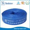 Tuyau flexible de conduit de PVC d'irrigation agricole bleue de Rainforced