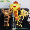 Peluche Seat Pets Toy per Kids in The Car