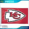 Drapeau de x5 NFL de Kansas City du logo officiel 3 d'équipe de football des chefs '