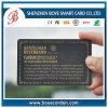Fantastischer Entwurfs-Goldstempel-Plastikkarte mit Rabatt